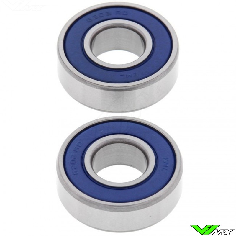 All Balls Front / Rear Wheel Bearing Kit - KTM 50SX Kawasaki KDX200 KDX250 Suzuki RM125 RM250 RM500