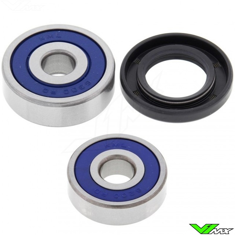 All Balls Front Wheel Bearing Kit - Kawasaki KX60 KX80 KLX110 KDX80 Suzuki RM60 DRZ110