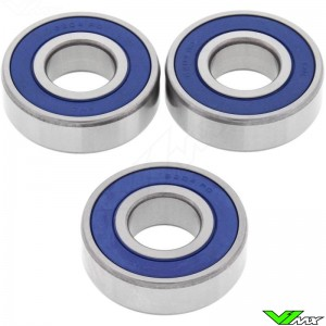All Balls Front Wheel Bearing Kit - Kawasaki KX80 KLX125 Suzuki RM50 RM60 RM80 DRZ125