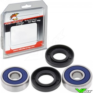 All Balls Front / Rear Wheel Bearing Kit - Yamaha YZ50 YZ60 YZ80 TTR125DrumBrake TTR125LDiscBrake