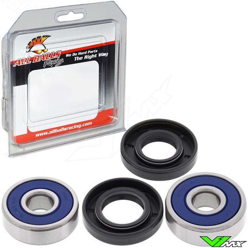 All Balls Voorwiel / Achterwiel lagerset - Yamaha TT-R125DrumBrake TT-R125EDrumBrake TT-R125LDiscBrake TT-R125LEDiscBrake
