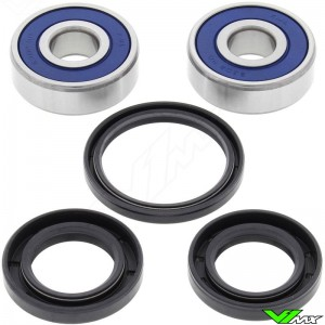 All Balls Front / Rear Wheel Bearing Kit - Honda CR250 Yamaha YZ80