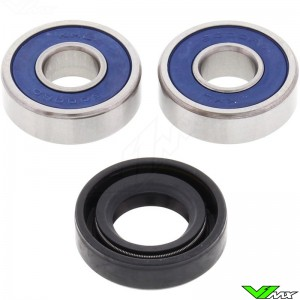 All Balls Front Wheel Bearing Kit - Kawasaki KLX125 Suzuki DRZ125L