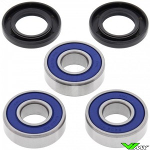 All Balls Rear Wheel Bearing Kit - Kawasaki KX80 KX85 KX100 KLX140 Suzuki RM100