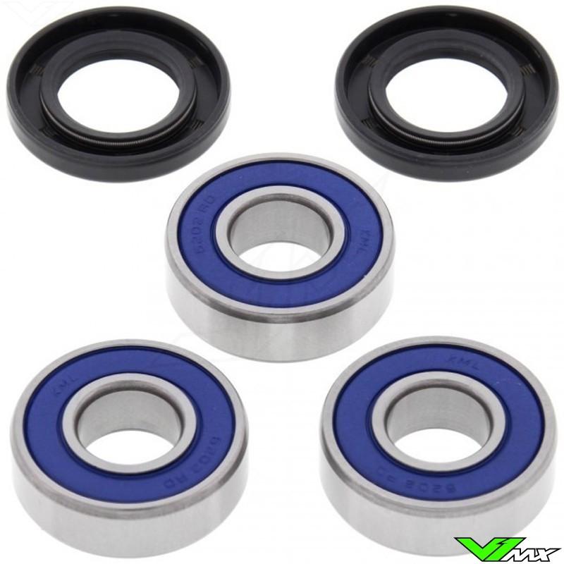 All Balls Rear Wheel Bearing Kit - Kawasaki KX80 KX85 KX85BigWheel KX100 KLX140 KLX140G KLX140L Suzuki RM100