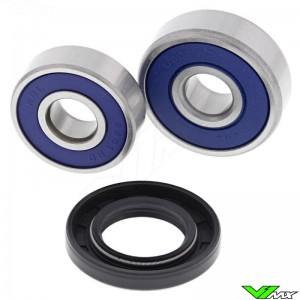 All Balls Rear Wheel Bearing Kit - Honda CR80 CRF70F CRF80F CRF100F CRF110F CRF125F CRF125FB XR70 XR80 XR100