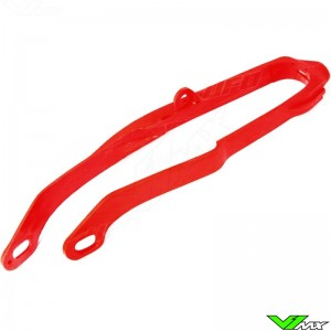 Chain slider swingarm UFO red - Honda CR125 CR250 CRF250R CRF450R CRF250X CRF450X