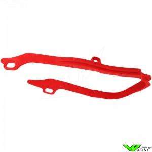 Chain slider swingarm UFO red - Honda CRF250R CRF450R