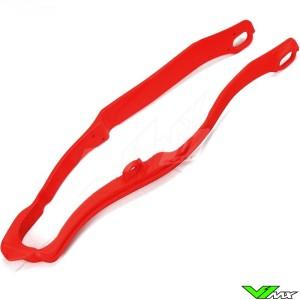 Chain slider swingarm UFO red - Honda CRF250R CRF450R