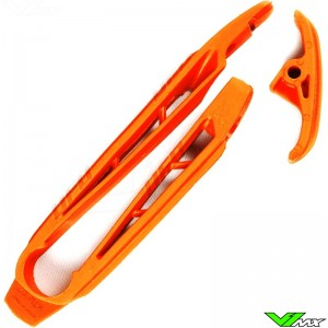 Chain slider swingarm UFO orange - KTM