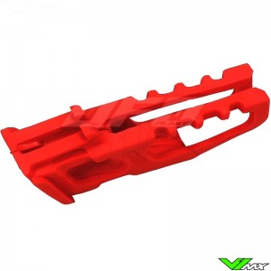 Chain guide block UFO red - Honda CR125 CRF250R CRF450R CRF250X CRF450X