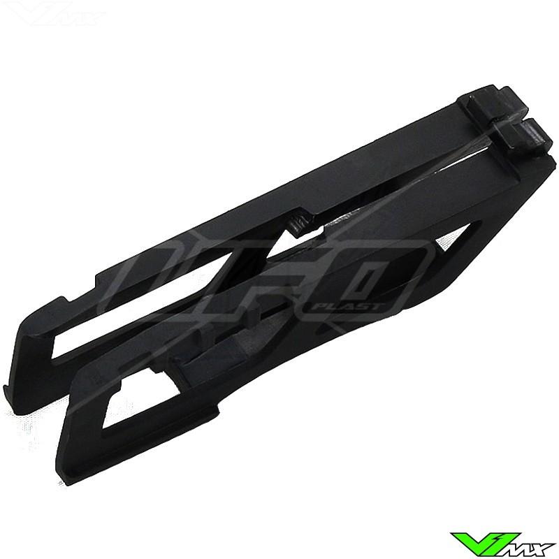 Chain guide block UFO black - Kawasaki KXF250 KXF450