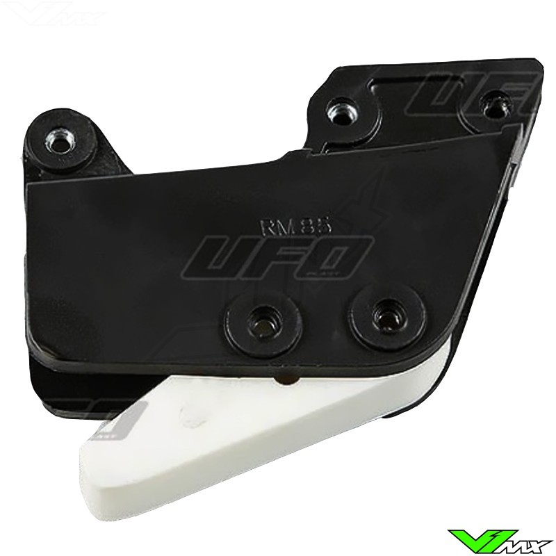 Chain guide block UFO black - Suzuki RM85