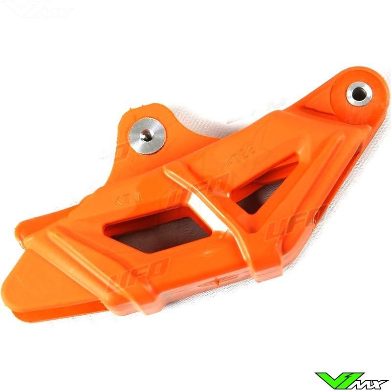 Chain guide block UFO orange - KTM