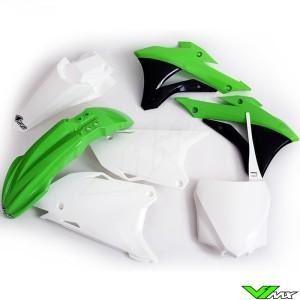 Plastic kit UFO OEM - Kawasaki KX85
