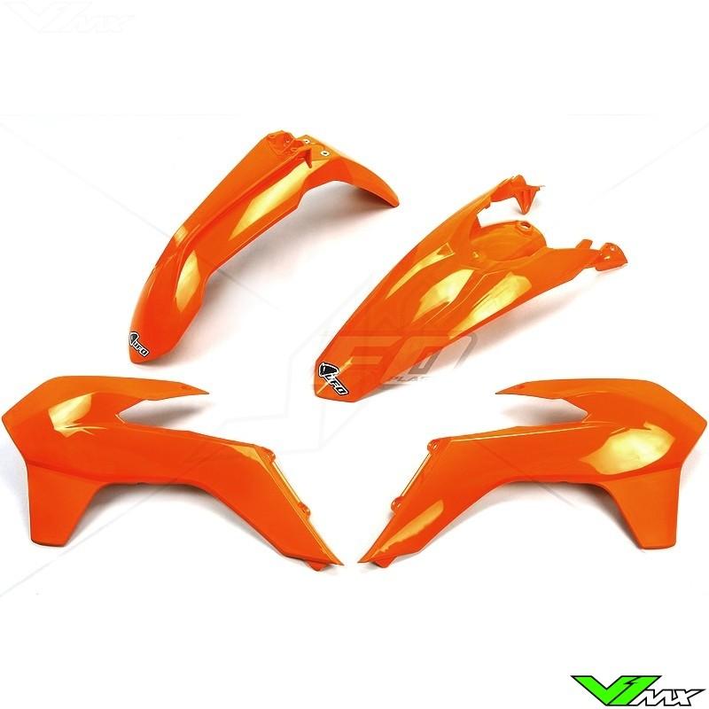 Plastic kit UFO orange - KTM 200EXC 250EXC 300EXC 450EXC 500EXC 250EXC-F 350EXC-F
