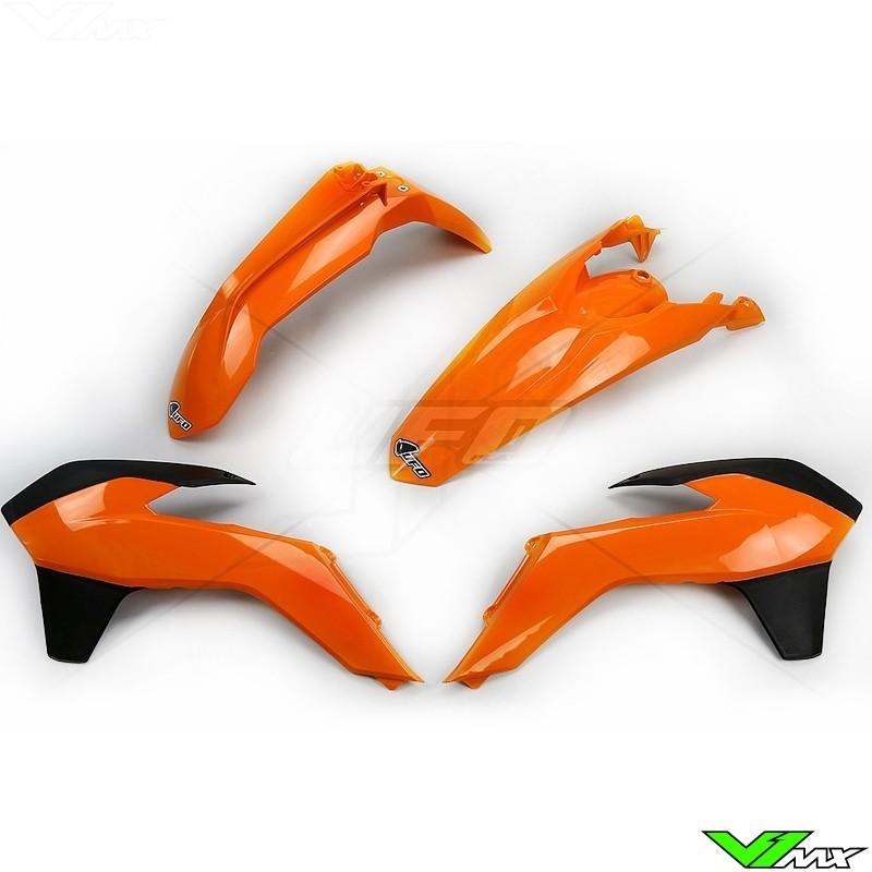 Plastic kit UFO OEM - KTM 125EXC 200EXC 250EXC 300EXC 450EXC 500EXC 250EXC-F 350EXC-F