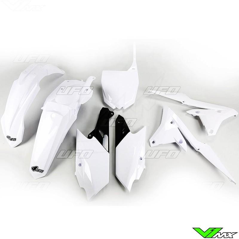 Plastic kit UFO white - Yamaha YZF250 YZF450