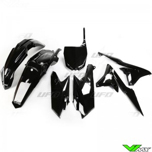 Plastic kit UFO black - Yamaha YZF250 YZF450