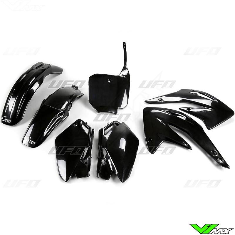 Plastic kit UFO black - Honda CR85