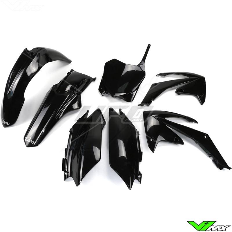 Plastic kit UFO black - Honda CRF250R CRF450R