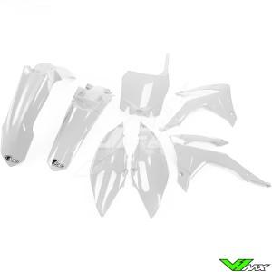 Plastic kit UFO white - Honda CRF250R CRF450R