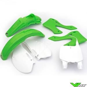 Plastic kit UFO OEM - Kawasaki KX125 KX250