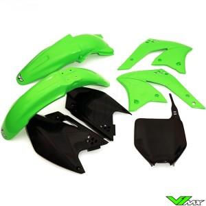 Plastic kit UFO OEM - Kawasaki KXF250