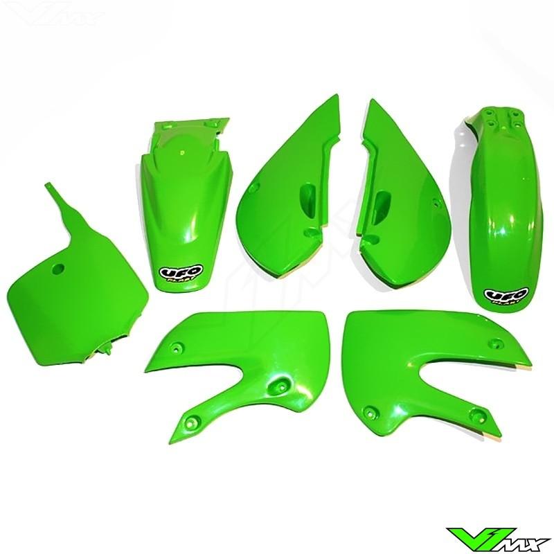 Plastic kit UFO OEM - Kawasaki KLX110