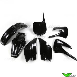Plastic kit UFO black - Kawasaki KX85