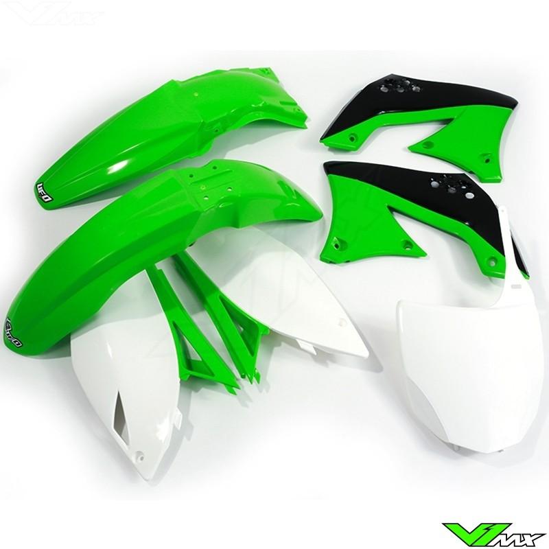 Plastic kit UFO OEM - Kawasaki KXF450