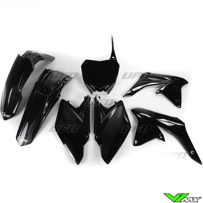 Plastic kit UFO black - Suzuki RMZ250