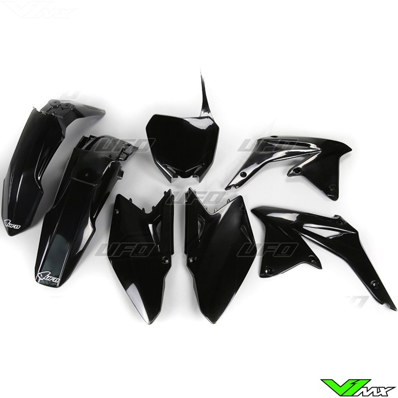 Plastic kit UFO black - Suzuki RMZ450