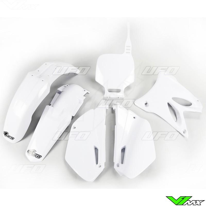 Plastic kit UFO white - Yamaha YZ85