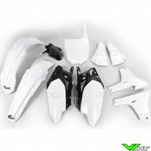 Plastic kit UFO white - Yamaha YZF450