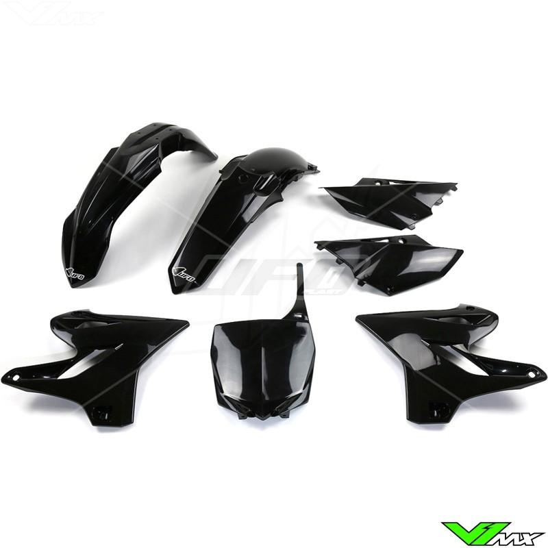 Plastic kit UFO black - Yamaha YZ125 YZ250