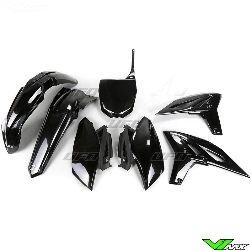 Plastic kit UFO black - Yamaha YZF250