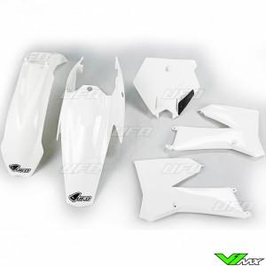 Plastic kit UFO white - KTM 85SX