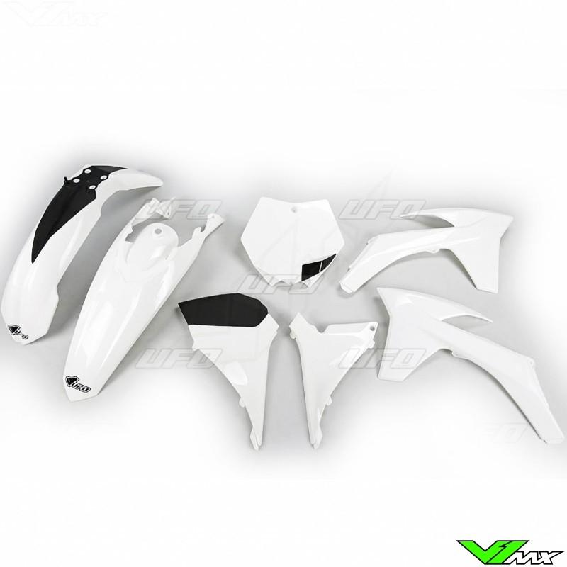 Kappenset UFO Wit - KTM 125SX 150SX 250SX 250SX-F 350SX-F 450SX-F