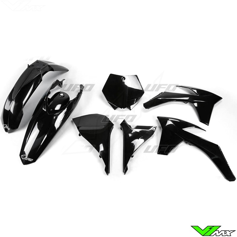 Plastic kit UFO black - KTM 125SX 150SX 250SX 250SX-F 350SX-F 450SX-F