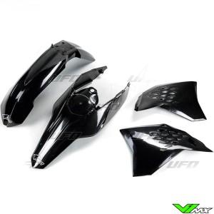 Plastic kit UFO black - KTM 200EXC 250EXC 300EXC 400EXC 450EXC 530EXC 250EXC-F