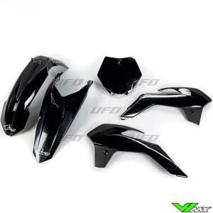Plastic kit UFO black - KTM 85SX