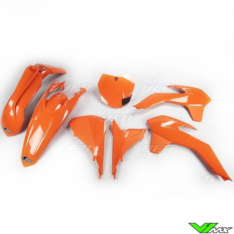 Plastic kit UFO orange - KTM 125SX 150SX 250SX 250SX-F 350SX-F 450SX-F