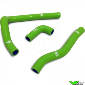 Radiatorhoses Samco sport green - Kawasaki KX65