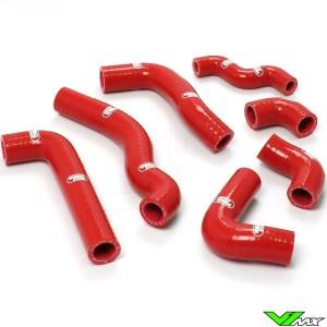Radiatorhoses Samco sport red - Beta RR350-4T RR390-4T RR400-4T RR430-4T RR450-4T RR480-4T RR498-4T