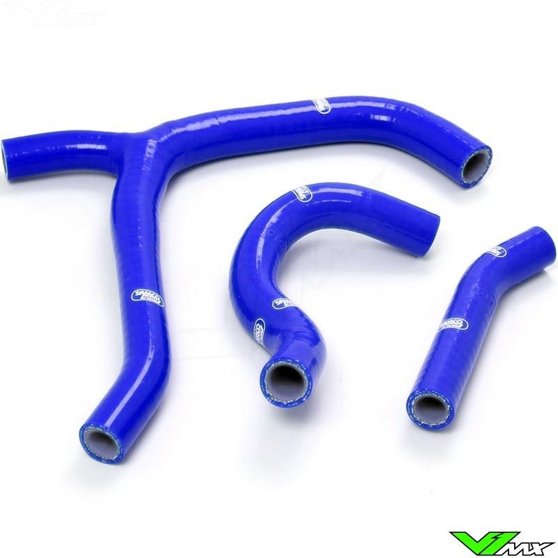 Radiateurslangen (Y) Samco sport Blauw - Honda CRF250R