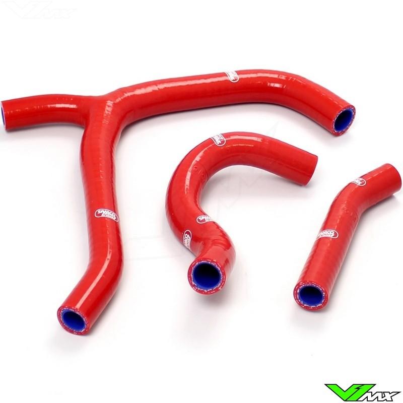 Radiatorhoses (Y) Samco sport red - Honda CRF250R