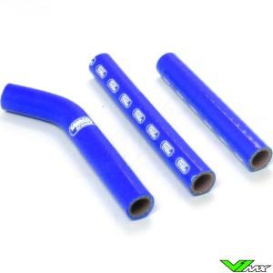 Radiatorhoses Samco sport blue - KTM 125EXC 200EXC Husqvarna TE125
