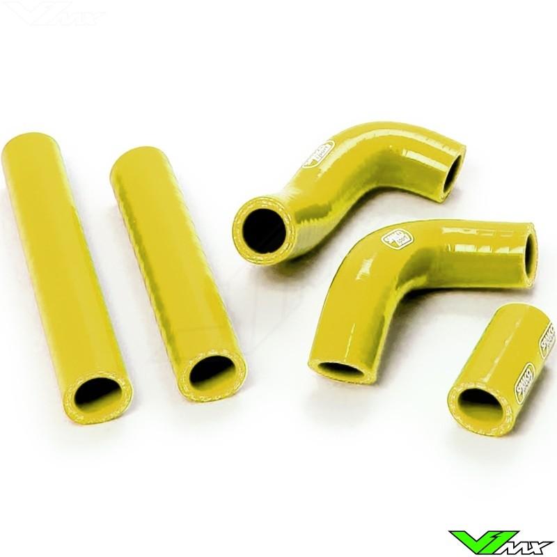 Radiatorhoses Samco sport yellow - Husqvarna TE250 TE300