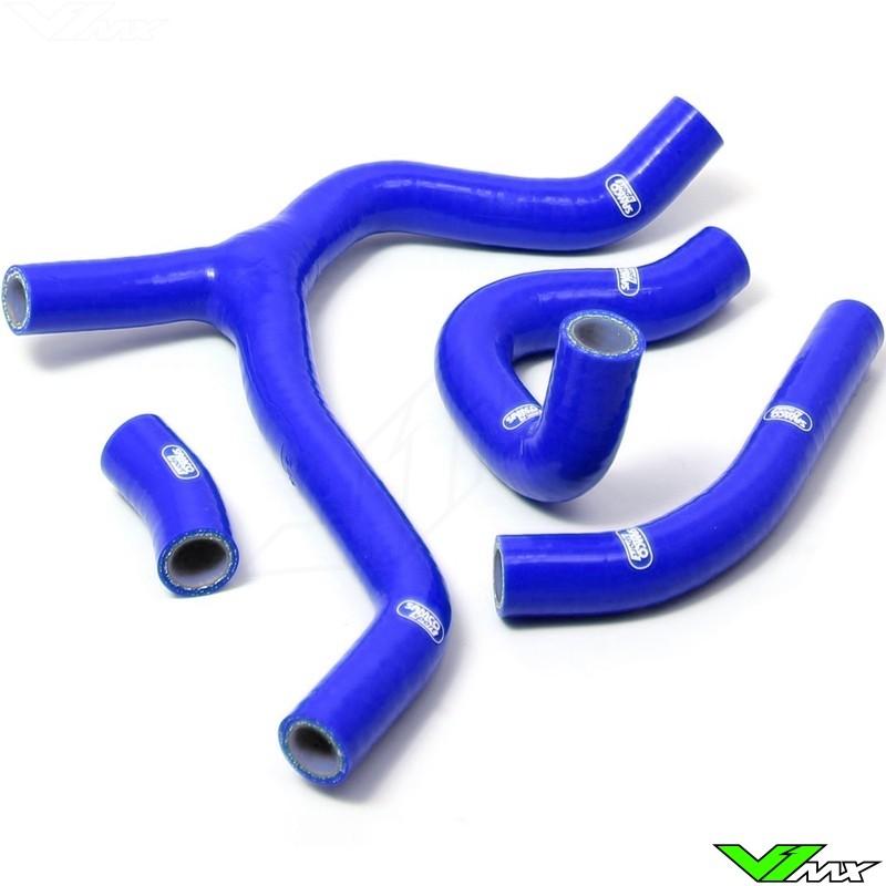Radiatorhoses (Y) Samco sport blue - Honda CRF450R
